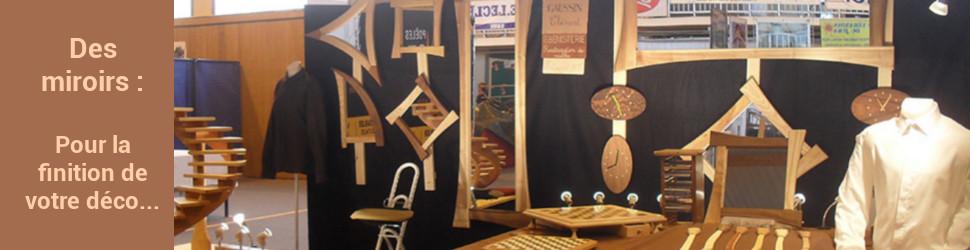 Les petits copeaux des produits en bois originaux et for Miroir artisanal