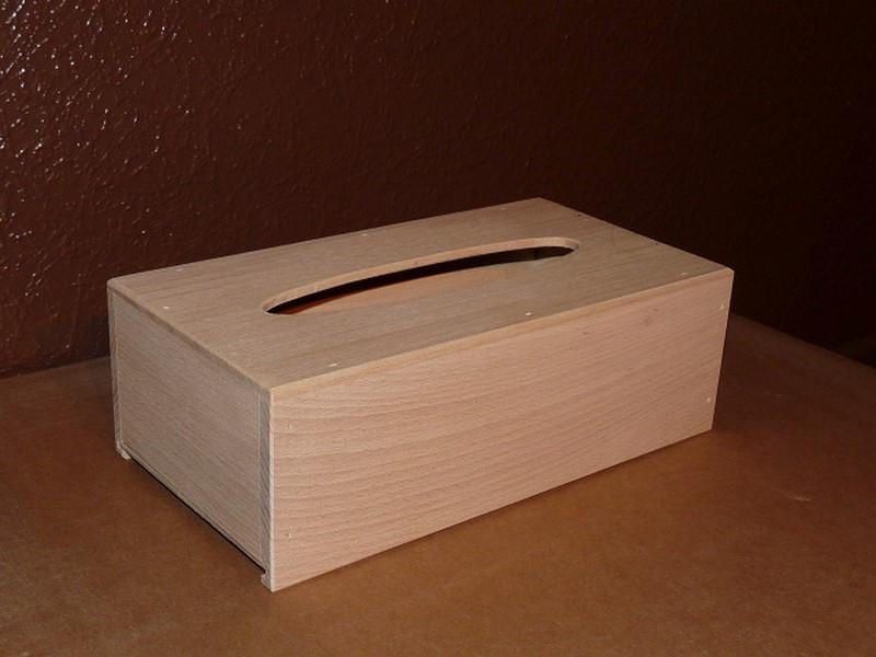 Boîte à mouchoirs avec tirette - vue 1