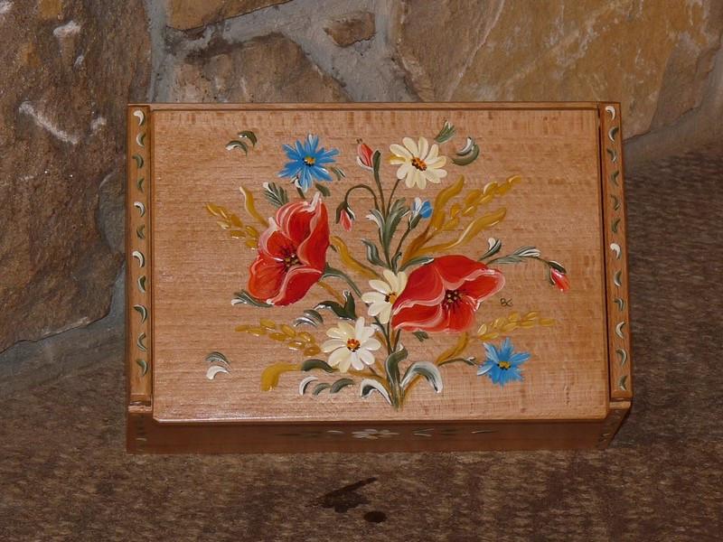 Boîte à thés ou tisanes Fleurs des champs - vue 1