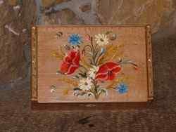 Boîte à thés ou tisanes Fleurs des champs