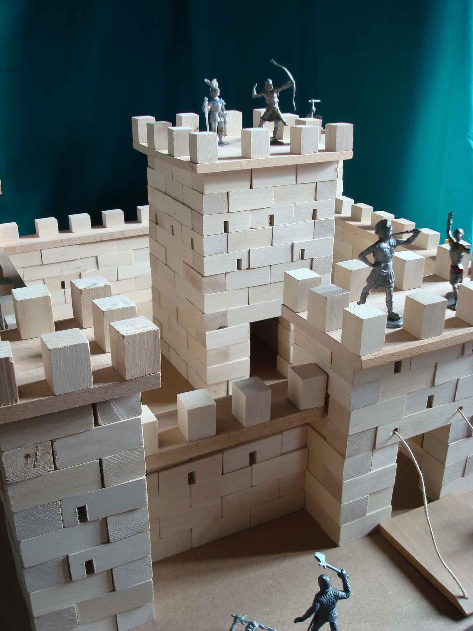 Château fort à construire - vue 2