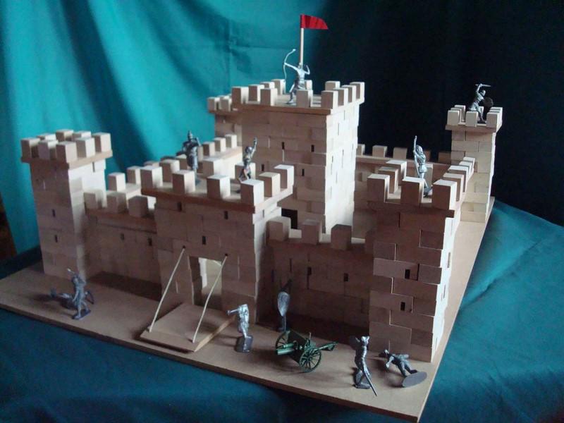 Château fort à construire - vue 1