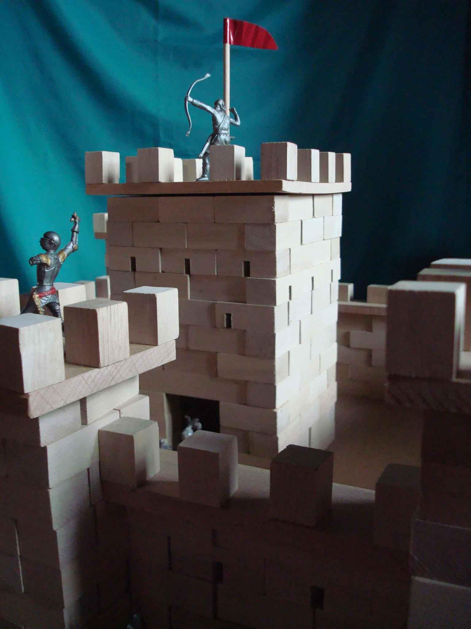 Château fort à construire - vue 3