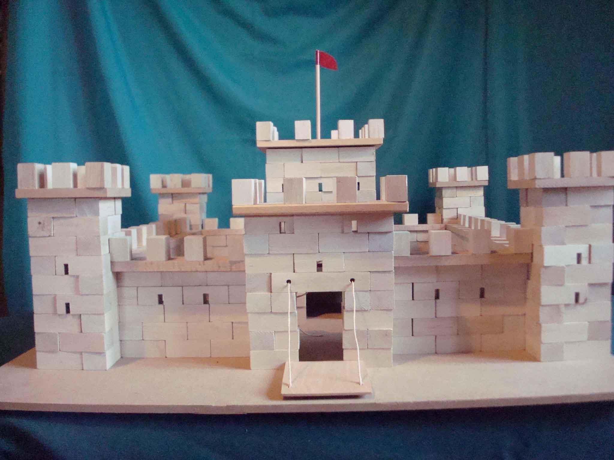 Château fort à construire - vue 4