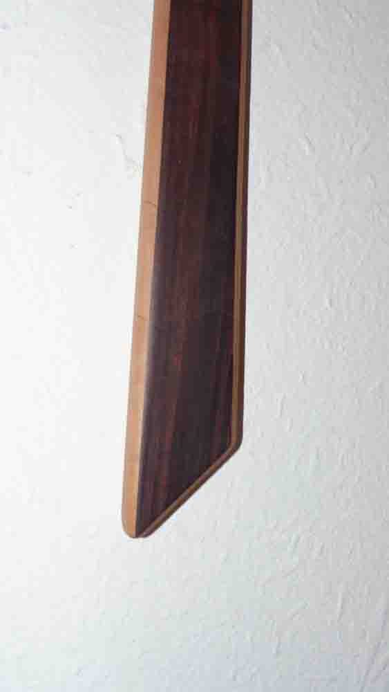 Cravate en Amarante - vue 2