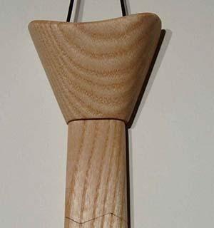 Cravate en frêne - vue 1