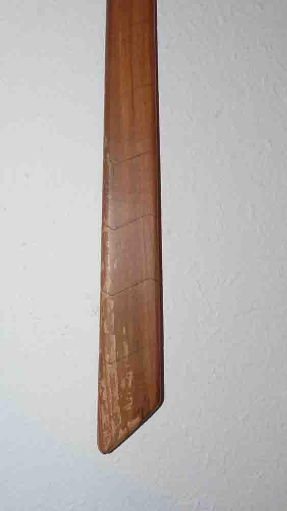 Cravate en vieux pommier - vue 4