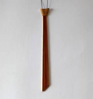 Cravate en bois plaquée de Bois de Rose - vue 4