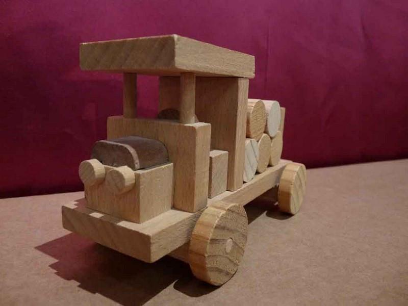 Petit Grumier en bois - vue 1