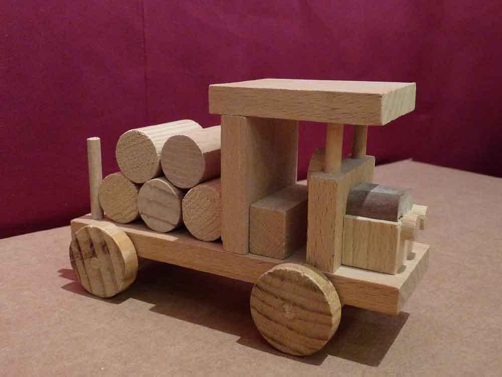 Petit Grumier en bois - vue 2