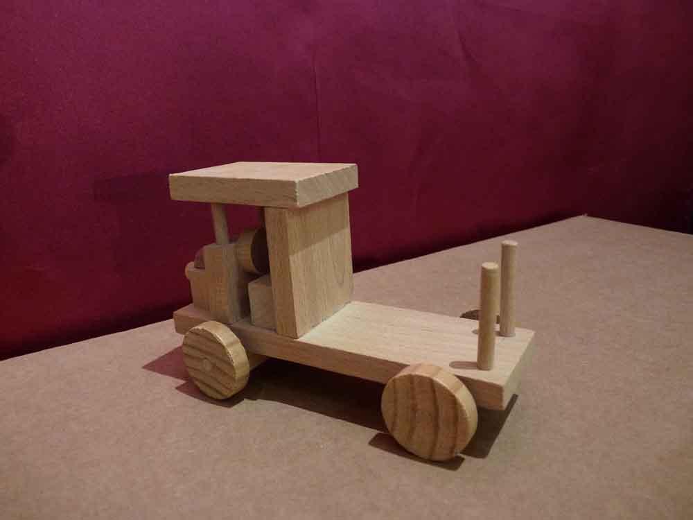 Petit Grumier en bois - vue 4