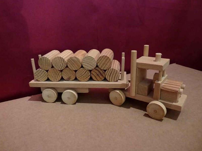 Grumier en bois - vue 1