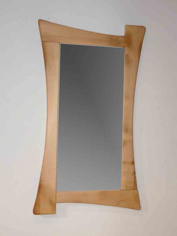 Miroir en bois for Miroir antique en bois