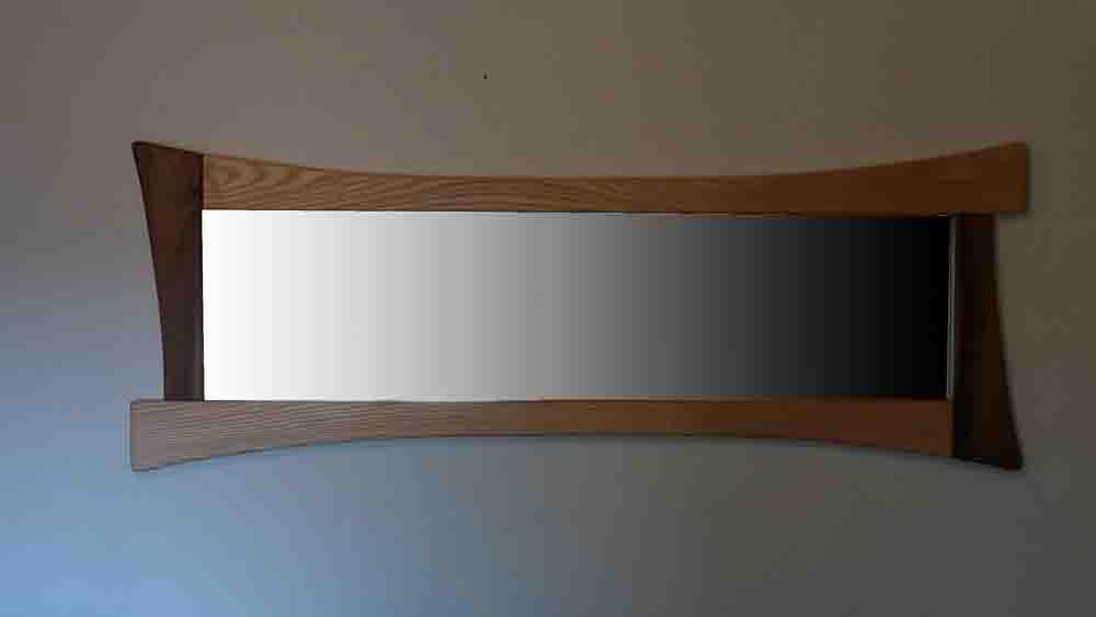 Miroir en bois plein pied - vue 4