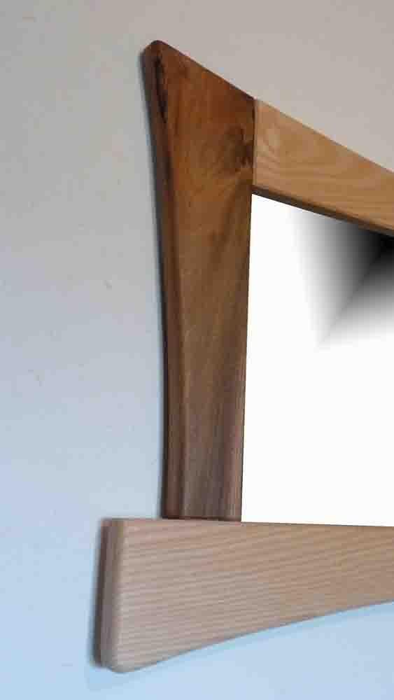 Miroir en bois plein pied - vue 2