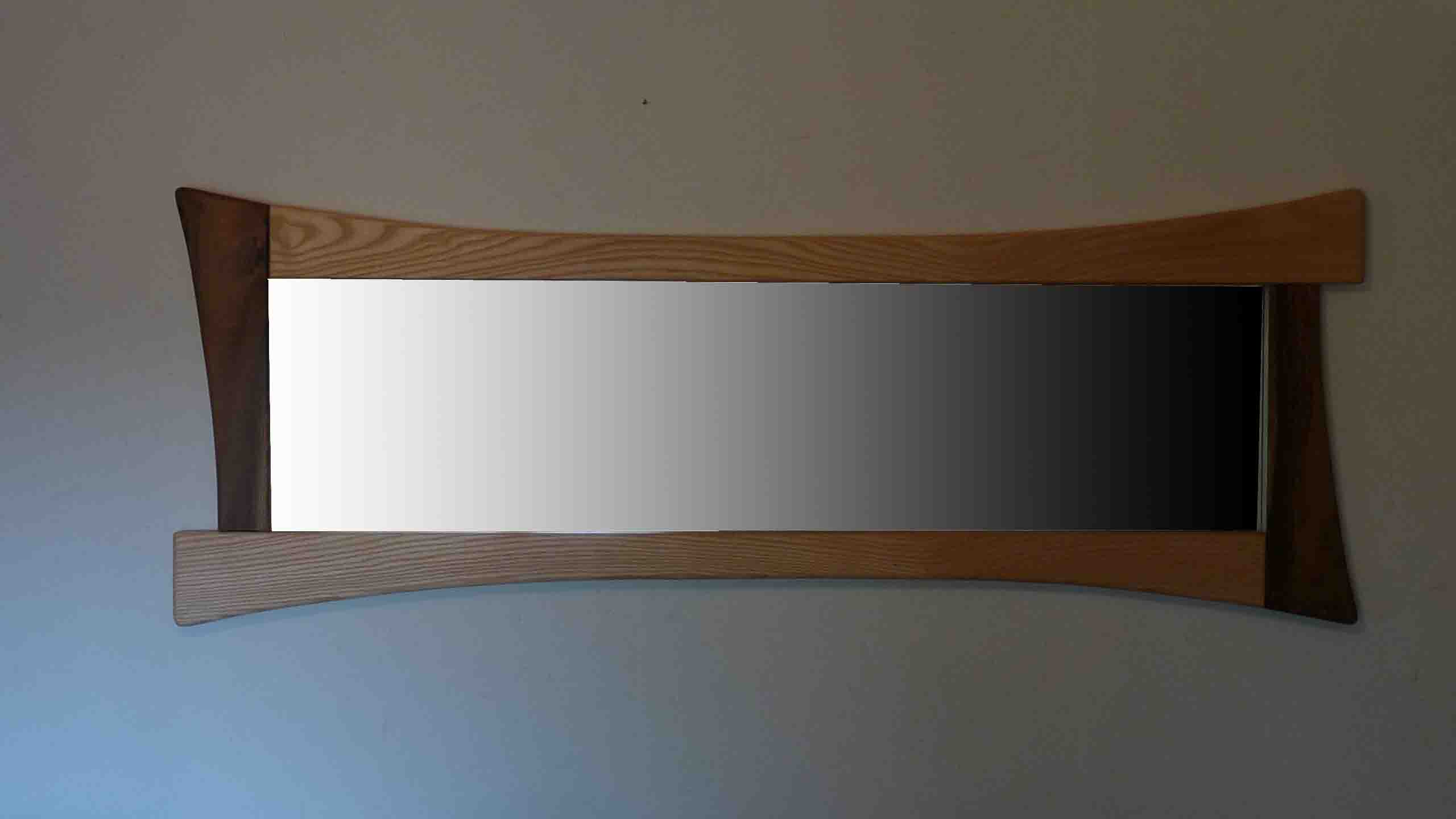 Miroir de plain pied for Miroir horizontal
