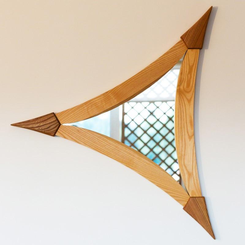 Miroir triangle - vue 1