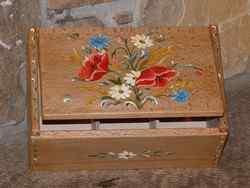 Boîte à thés ou tisanes Fleurs des champs - vue 4
