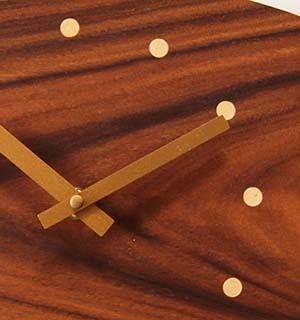 Horloge Murale Bois en palissandre - vue 4