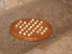 Solitaire circulaire avec billes en bois - vue 4