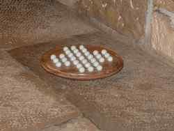 Solitaire circulaire avec billes en verre - vue 2