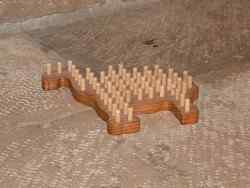 Solitaire chameau - vue 2