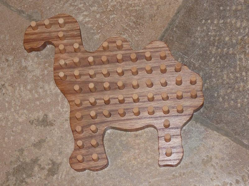 Solitaire chameau - vue 1